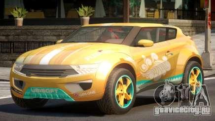 Lagoon Car from Trackmania 2 PJ6 для GTA 4
