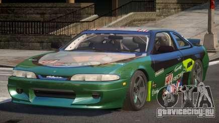 Nissan Silvia S14 Drift PJ2 для GTA 4