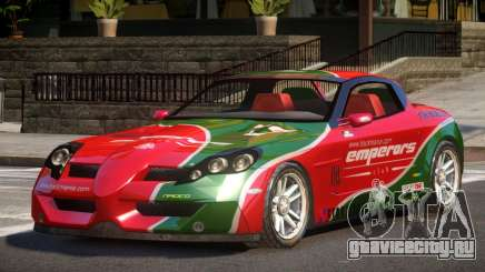 Coast Car from Trackmania PJ5 для GTA 4
