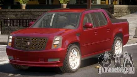 Cadillac Escalade Ext TR для GTA 4