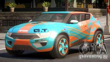 Lagoon Car from Trackmania 2 PJ8 для GTA 4