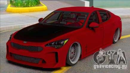 Kia Stinger Tuned (ivf) для GTA San Andreas