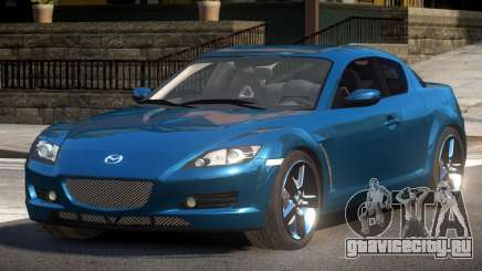 Mazda RX8 R-Tuned для GTA 4