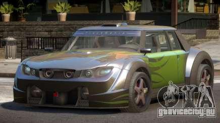 Valley Car from Trackmania 2 PJ7 для GTA 4