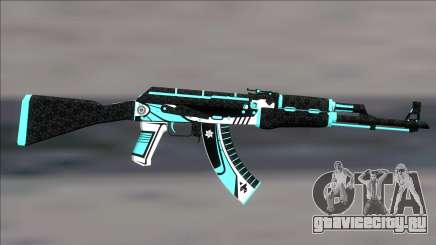 AK47 Monarch для GTA San Andreas