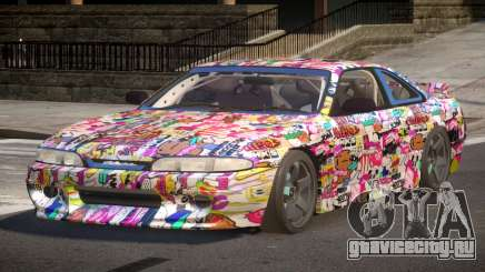 Nissan Silvia S14 Drift PJ5 для GTA 4