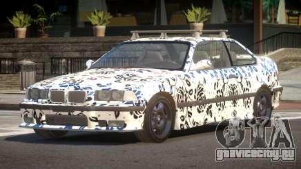 1992 BMW M3 E36 L10 для GTA 4