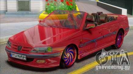 IKCO Peugeot Pars Crook Edition для GTA San Andreas