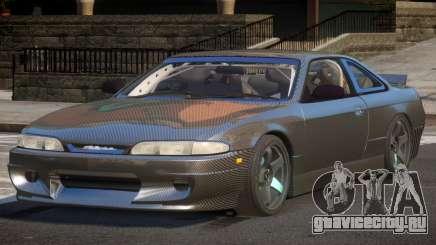 Nissan Silvia S14 Drift PJ1 для GTA 4