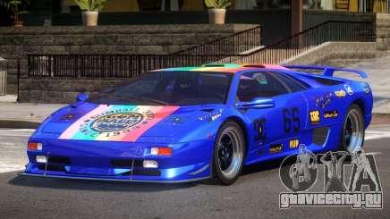 Lamborghini Diablo Super Veloce L1 для GTA 4