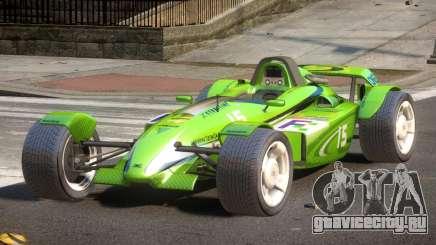 Stadium Car from Trackmania PJ4 для GTA 4