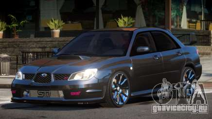 Subaru Impreza STI D-Tuned для GTA 4