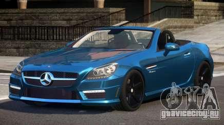 Mercedes Benz SLK55 V1.3 для GTA 4