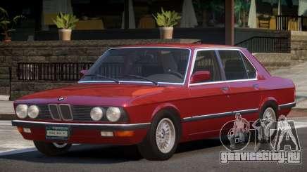 1986 BMW M5 E28 для GTA 4