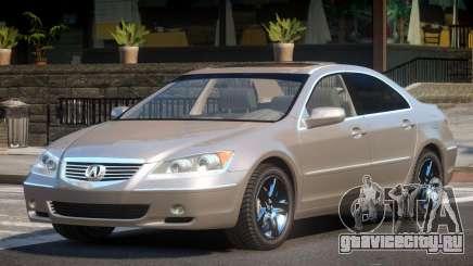 Acura RL SN для GTA 4