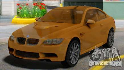 BMW M3 E92 Yellow Coupe для GTA San Andreas