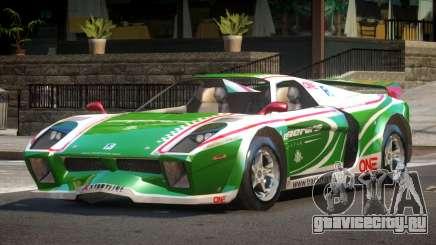 Island Car from Trackmania PJ3 для GTA 4