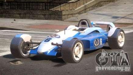Stadium Car from Trackmania PJ6 для GTA 4