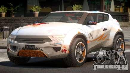 Lagoon Car from Trackmania 2 PJ12 для GTA 4