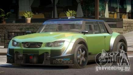 Valley Car from Trackmania 2 PJ10 для GTA 4