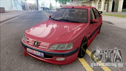 Peugeot Pars Red для GTA San Andreas