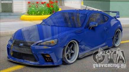 2014 Subaru BRZ Aimgain для GTA San Andreas