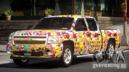 Chevrolet Silverado GST 1500 L1 для GTA 4