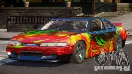 Nissan Silvia S14 Drift PJ3 для GTA 4