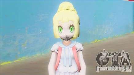 Pokemon Sun and Moon Lillie Z Powered Form для GTA San Andreas
