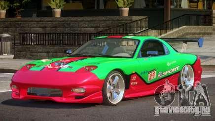 Mazda RX7 L-Tuned L9 для GTA 4
