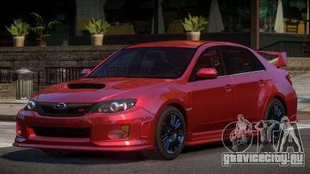 Subaru Impreza D-Tuned для GTA 4