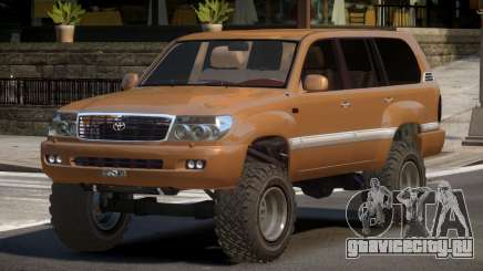 Toyota Land Cruiser 100 BS для GTA 4
