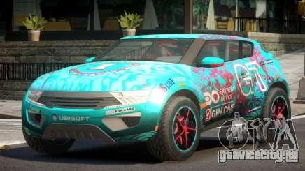 Lagoon Car from Trackmania 2 PJ7 для GTA 4