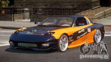 Mazda RX7 L-Tuned L1 для GTA 4