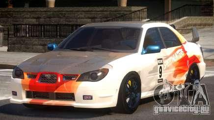 Subaru Impreza STI GS L10 для GTA 4