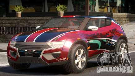Lagoon Car from Trackmania 2 PJ9 для GTA 4
