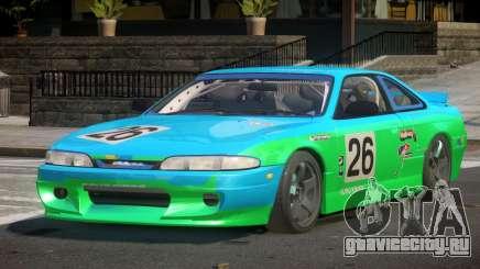 Nissan Silvia S14 Drift PJ8 для GTA 4