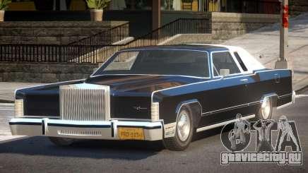 Lincoln Continental Old для GTA 4