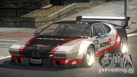 1979 BMW M1 PJ2 для GTA 4