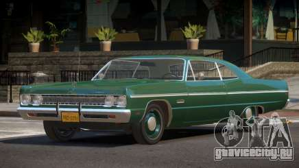 Plymouth Fury V1.1 для GTA 4