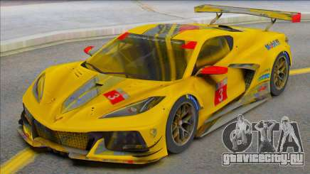 Chevrolet Corvette C8R для GTA San Andreas