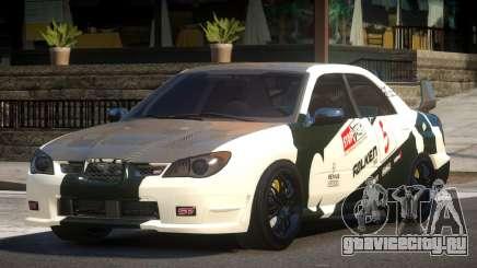 Subaru Impreza STI GS L8 для GTA 4