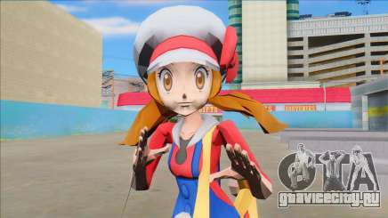 Lyra from Pokemon Masters для GTA San Andreas