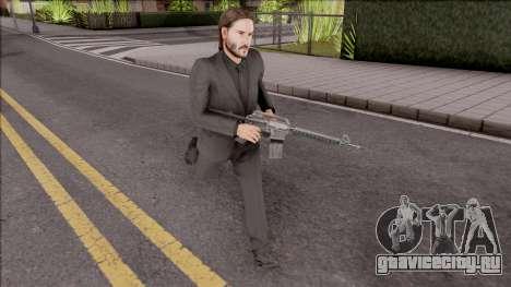 John Wick Bodyguard Mod для GTA San Andreas