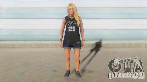 GTA Online Skin Ramdon Female Outher 4 V1 для GTA San Andreas