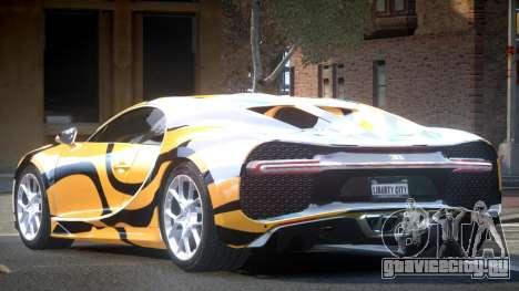 Bugatti Chiron GS L10 для GTA 4