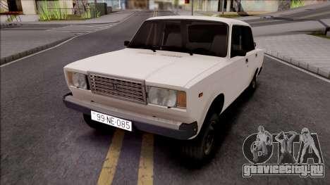 ВАЗ 2107 99-NE-085 для GTA San Andreas