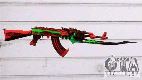 AK47 Beast CFS 2018 D Leck для GTA San Andreas