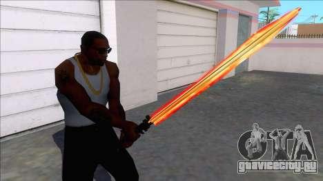 Taskmasters Sword from Spider-Man PS4 для GTA San Andreas