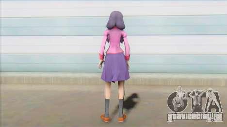 Tsubasa Hanekawa from Bakemonogatari для GTA San Andreas